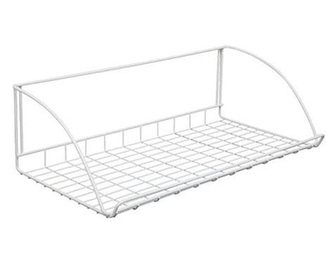 Closetmaid 3 Foot Wire Utility Shelf Closetmaid 8279 24 Inch Wide Laundry Utility Hanger Shelf