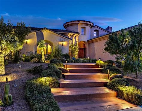 exterior landscaping beautiful landscaping western style house exterior designs