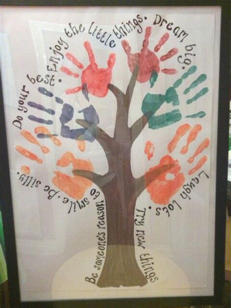 family tree craft project family print tree print designs