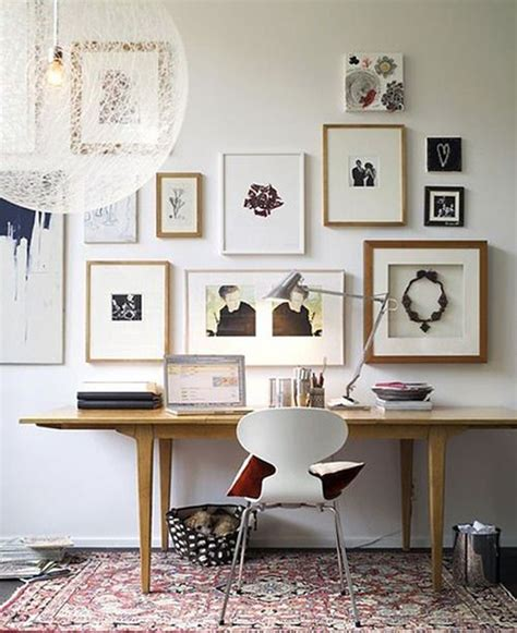 home office wall decor gallery wall home office ideas