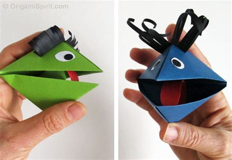Origami A Paper Puppet For
