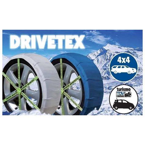 cadenas de nieve para 4x4 drivetex 4x4 talla 44 cadena de nieve textil
