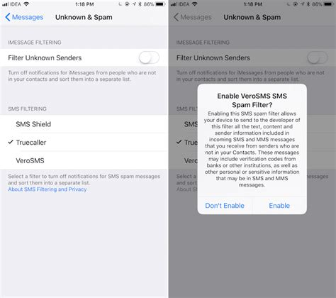 how to block spam sms how to block sms spam on iphone in ios 11 iphone