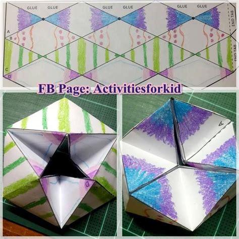 origami paper toys flextangles credit http babbledabbledo paper toys