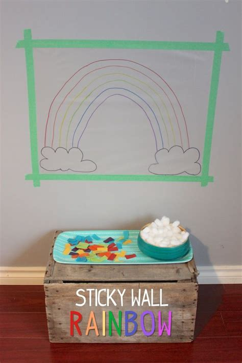contact paper craft 17 best images about playgroup ideas on