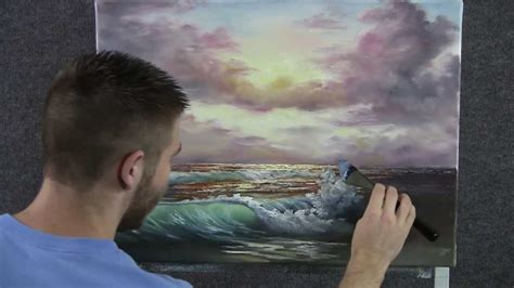 acrylic painting kevin paint with kevin hill sunset kevin hill