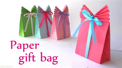 easy craft gifts for diy crafts paper gift bag easy innova crafts