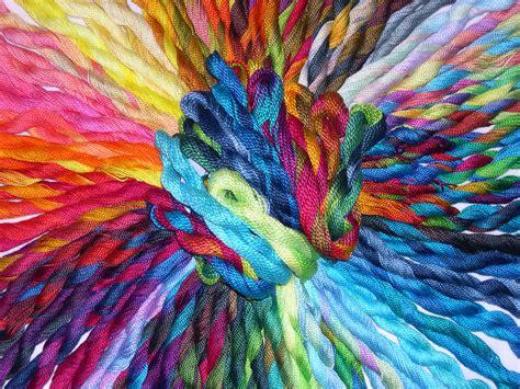 threads and how to manage thread skeins for machine work artfabrik