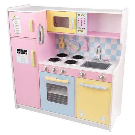 kid craft play kitchen kidkraft large pastel wooden play kitchen childrens