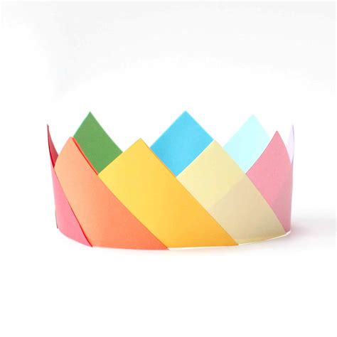 crown origami simple origami crowns