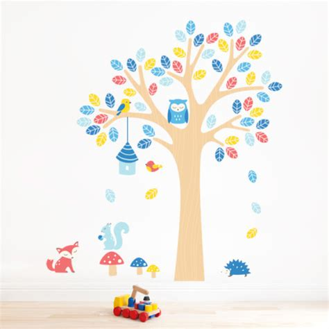 nursery tree stickers for walls nursery tree wall sticker for room
