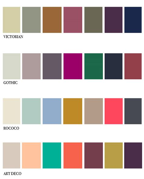 deco color palette rococo on galleries plaster and pastel pink