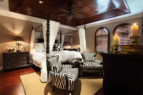 Afrocentric Home Decor tropical master bedroom tropical bedroom miami by