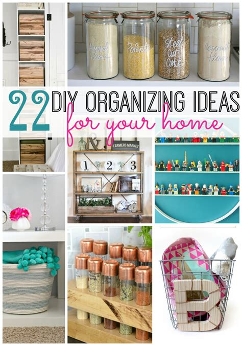 organising ideas 22 diy organizing ideas for your home tatertots and jello