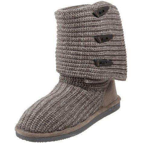 knit sweater boots bearpaw knit 658w s sweater boots free