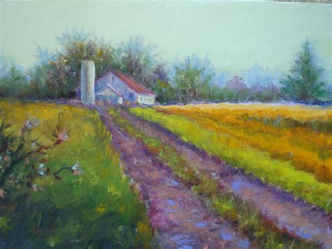 painting indiana indiana farmland painting by ladue ulrich