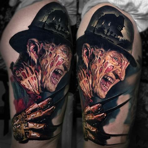 freddy krueger tattoo best tattoo design ideas