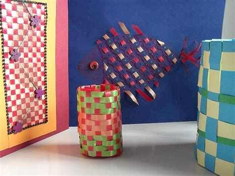 weaving crafts for paper weaving crafts for
