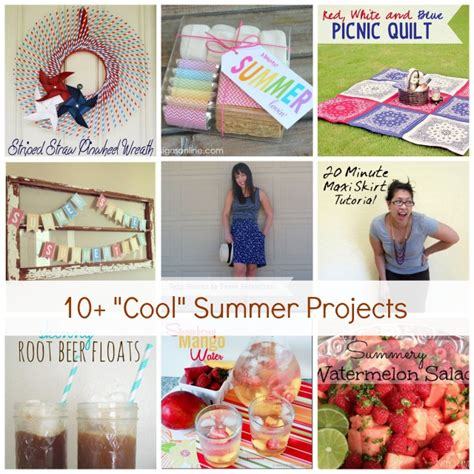 diy summer craft projects show tell no 55 summer craft and diy projects tauni co
