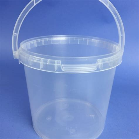 acrylic resin clear 2 6 litre c w plastic handle ter