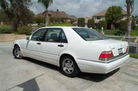 1999 Mercedes S500 For Sale by 1999 White Beige S500 For Sale In California Mbworld Org