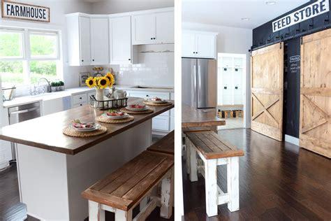 farmhouse kitchen design ideas 49 gorgeous modern farmhouse kitchens