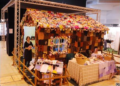 the knit house cbbc newsround pictures in pictures knitted home goes