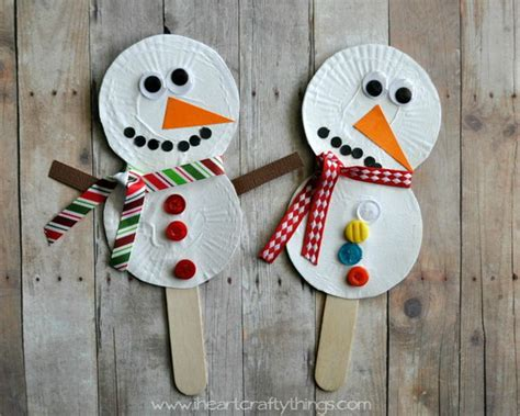winter paper crafts and creative winter themed crafts for