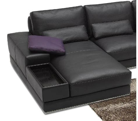 italian sectional sofas dreamfurniture 942 contemporary italian leather