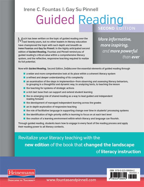 guided reading second edition responsive teaching across the grades guided reading second edition by irene fountas su