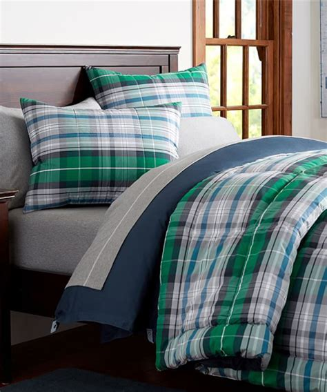 bedding for boys boys plaid bedding