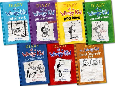 pictures of diary of a wimpy kid books diary of a wimpy kid all books in order