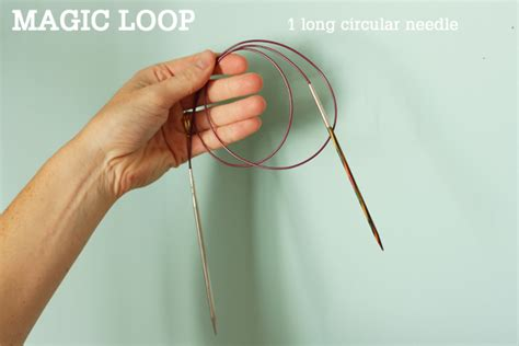 magic loop method of knitting magicloop