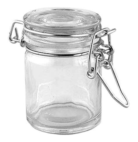 le mini pot en verre couvercle style conserve nos contenants pour dragees ou bonbons