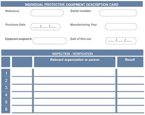 card equipment uk equipment inspection card liftingsafety