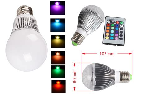 color changing led light bulb e27 16 color changing rgb led light bulb 3 5 10w g50 g60