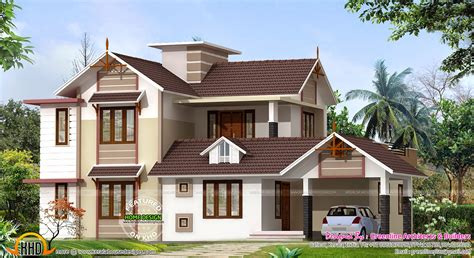 new house design photos 2400 sq ft new house design kerala home design and floor