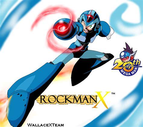 rockman x rockman x 20th by wallacexteam on deviantart