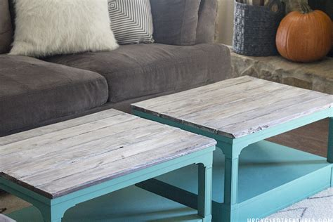 chalk paint upcycle upcycled coffee tables mountainmodernlife