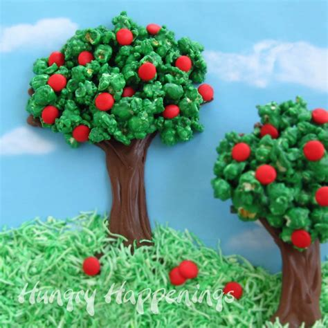 trees craft preschool crafts for earth day popcorn tree