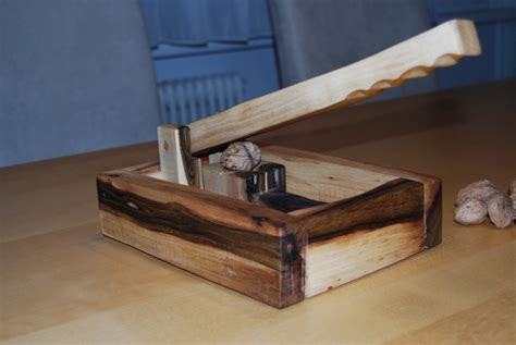 A Wooden Nutcracker Made Of Walnut Wood By Hoizbastla
