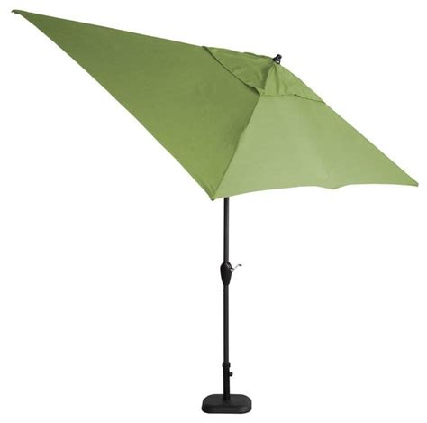 patio umbrellas sunbrella hton bay patio umbrellas 10 ft x 6 ft aluminum patio