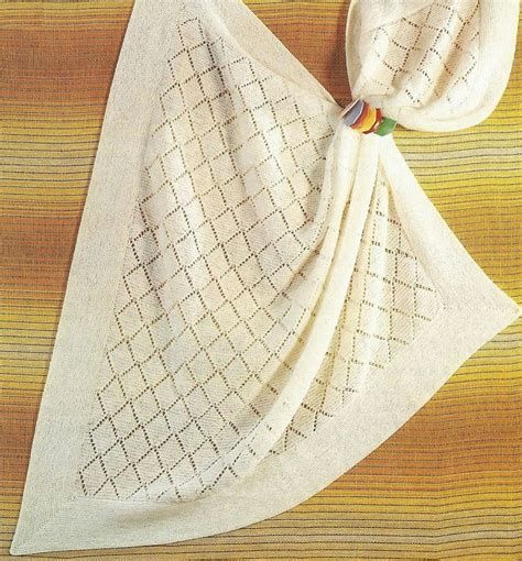 baby shawl knitting patterns vintage baby babies knitting pattern for a square shawl