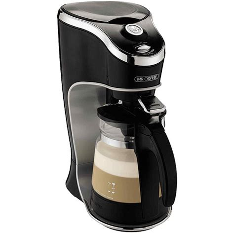 Mr. Coffee Cafe Latte Home Brewer, Black BVMC EL1   Walmart.com