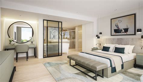 floor plans for bedroom with ensuite bathroom luxury contemporary master bedroom suite with open plan