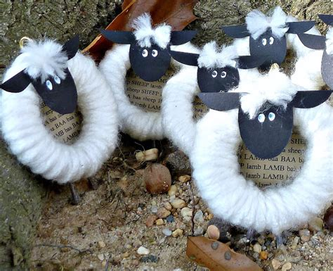 sheep crafts for sheep craft