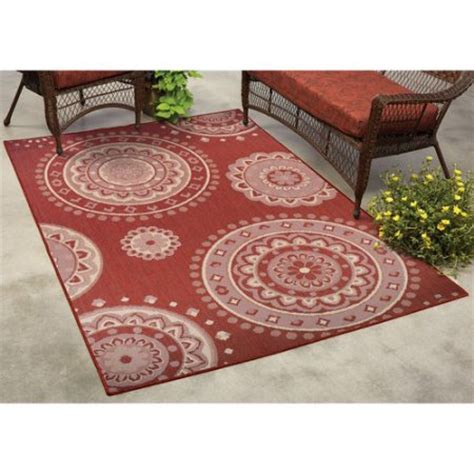 outdoor rugs at walmart mainstays lila medallion indoor outdoor rug walmart
