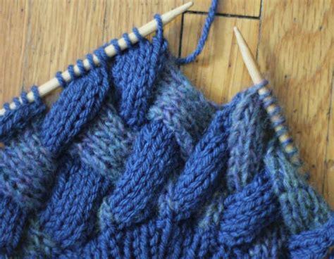 entrelac knitting pattern knitting free entrelac beret knitting pattern