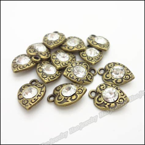 make metal jewelry 80 pcs vintage charms pendant antique bronze