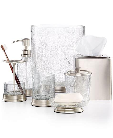 clear glass bathroom accessories 1000 ideas about bath accessories on bath